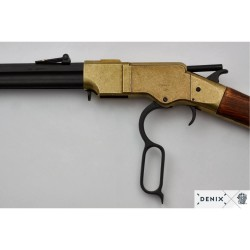 Henry rifle with octogonal barrel, USA 1860 (111cm)