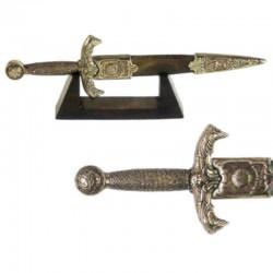 Miniatura de daga del rey Arturo