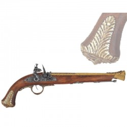 English pistol, 18th century