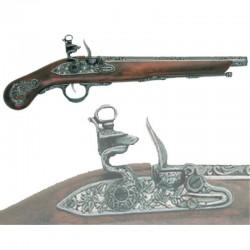 Flintlock pistol, Italy...