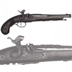 Percussion pistol, France 1832 (37cm)