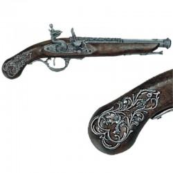 Pistola inglesa siglo XVIII