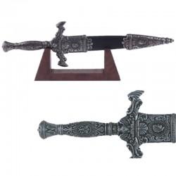Miniatura daga Napoleón con soporte madera