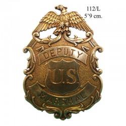 Eagle marshal badge