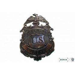 Placa de Marshal con águila, 5.9cm