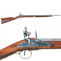 Flintlock carbine, France 1806