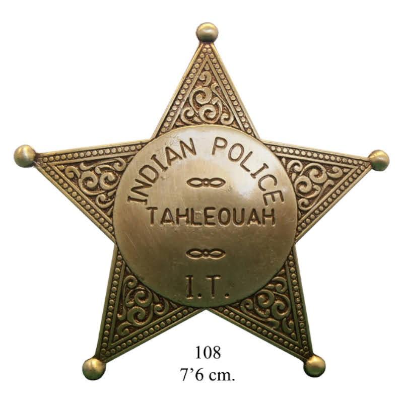Placa de la policía india