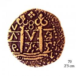 2 Escudos de oro (Doblón) Felipe II 1556-1598