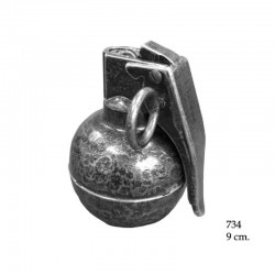 Hand grenade M67 with lighter