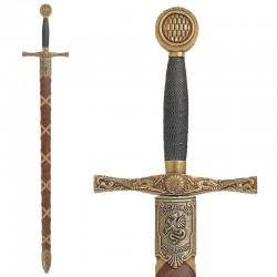 "Espada ""Excalibur"" legendaria del Rey Arturo"