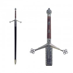 """""""Claymore"""" two-handed sword, with scabbard"""