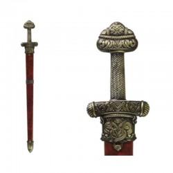 "Espada vikinga Erik ""El Rojo"", con funda"