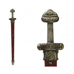 Viking sword Erik the Red, with scabbard
