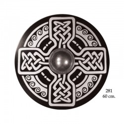 Celtic wood shield