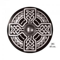 Escudo celta de madera