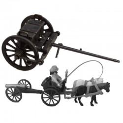 Cannon munitions cart