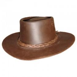 Sombrero cowboy de cuero