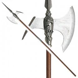 Halberd of barbarian warrior