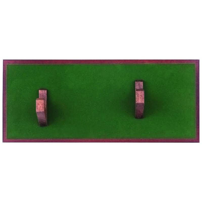 Estante tapiz verde para pistola