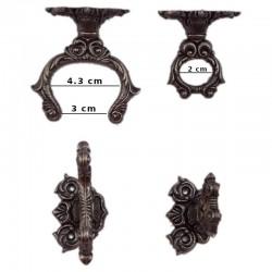 Soporte de pared para espada o daga (7cm)