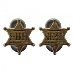Wall hanger - model Sheriff badge