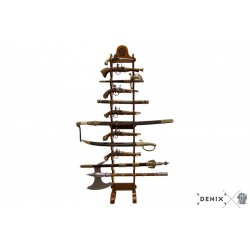 Wood stand for 12 weapons