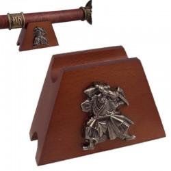 Estante para arma samurai