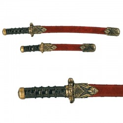 Set of samurai mini-weapons