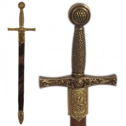 Abrecartas espada Excalibur