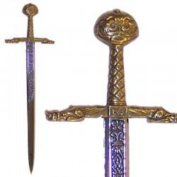 Abrecartas espada de Carlomagno