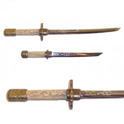 Juego de 2 mini-armas samurais