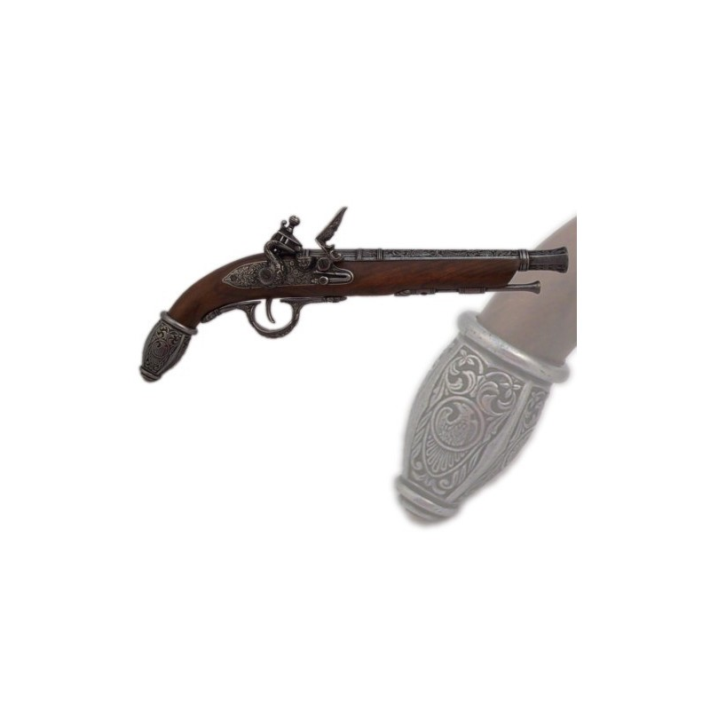 German pistol, 17th century (39cm)