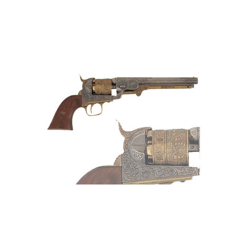 American Civil War Navy revolver, USA 1851 (35cm)