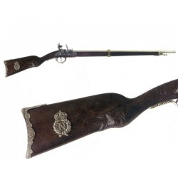 Flintlock rifle Napoleon, France 1807 (110cm)