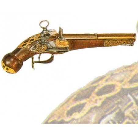 Pistol of Ripoll, late 17th century (32cm)