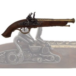 English pistol, 17th century (37cm)