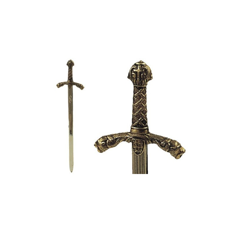 Sword letter opener Richard the Lionheart (24cm)