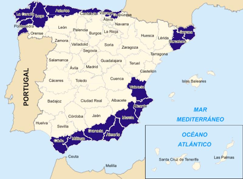Provincias con distribuidores