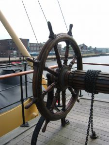 rudder wheel